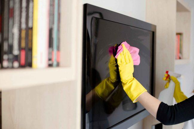تمیز کردن lcd سونی